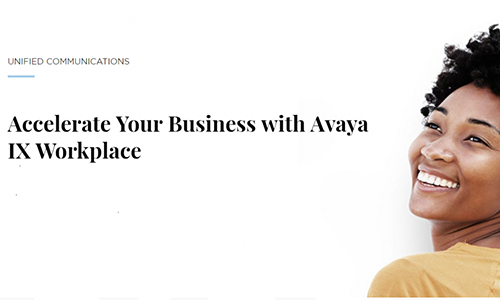 Avaya Unified Communications