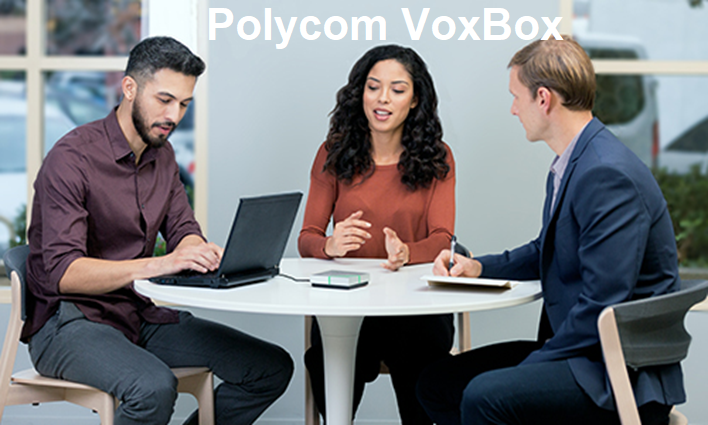 Poly VoxBox Speakerphone